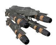 Raketenwerfer / Höllenfeuer 3d model