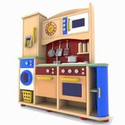 Toon Kitchen 3d model