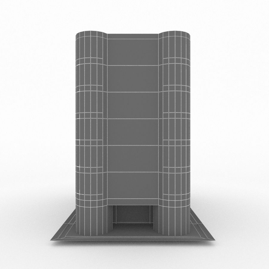 Office Build 28 royalty-free 3d model - Preview no. 12