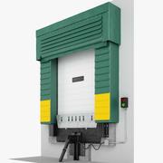 Dock Shelter 03 3d model
