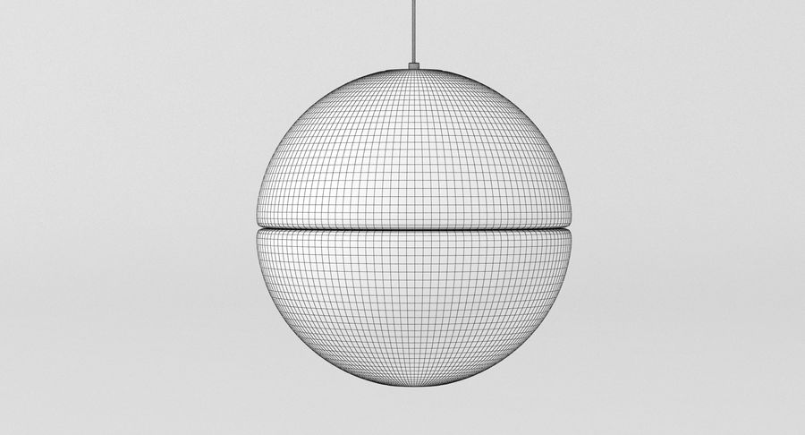 Bocci 14 Standart Lamp royalty-free 3d model - Preview no. 4