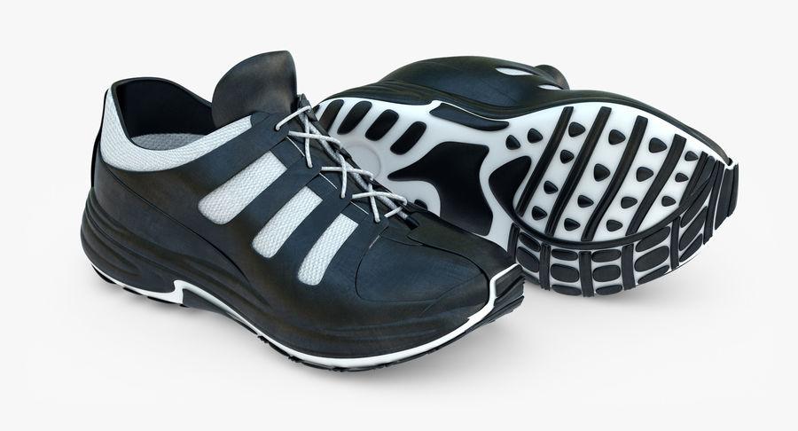 Chaussures de course royalty-free 3d model - Preview no. 3