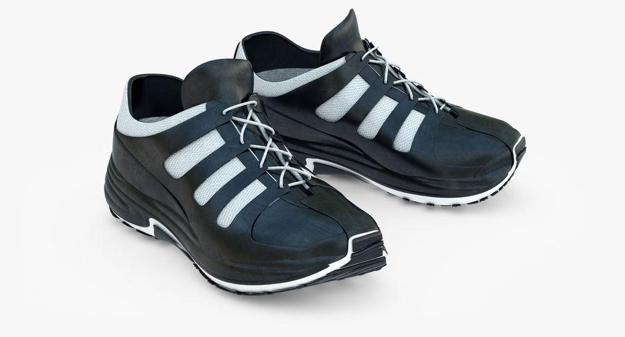 Chaussures de course royalty-free 3d model - Preview no. 2