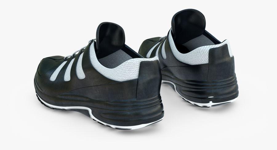 Chaussures de course royalty-free 3d model - Preview no. 7