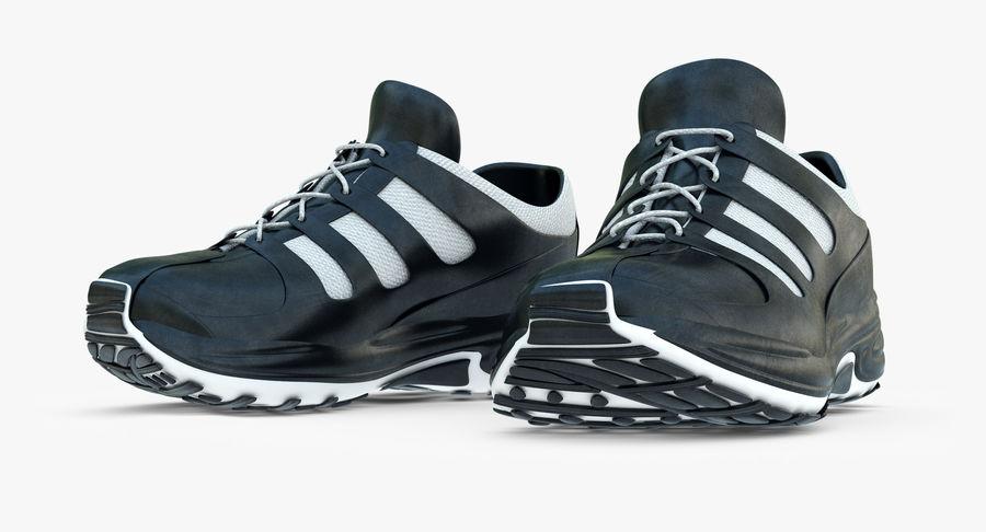Chaussures de course royalty-free 3d model - Preview no. 4