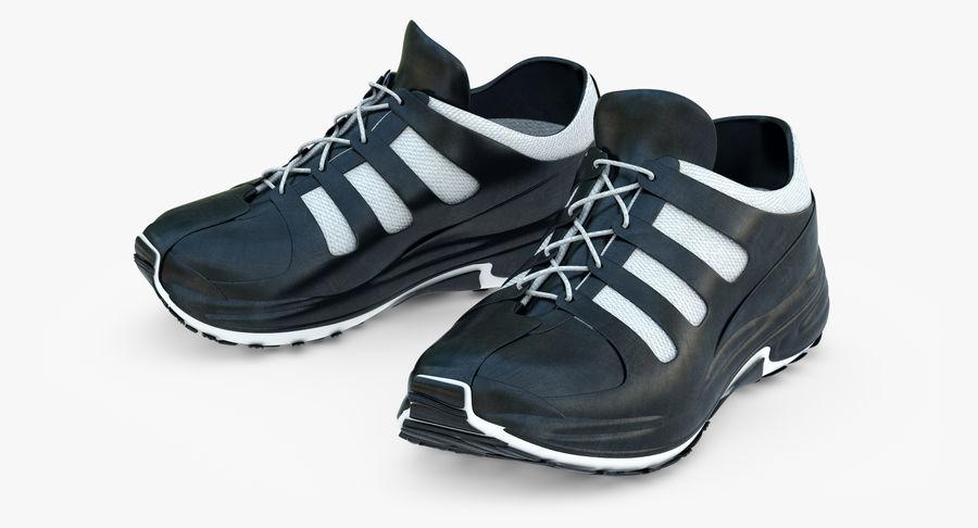 Chaussures de course royalty-free 3d model - Preview no. 9