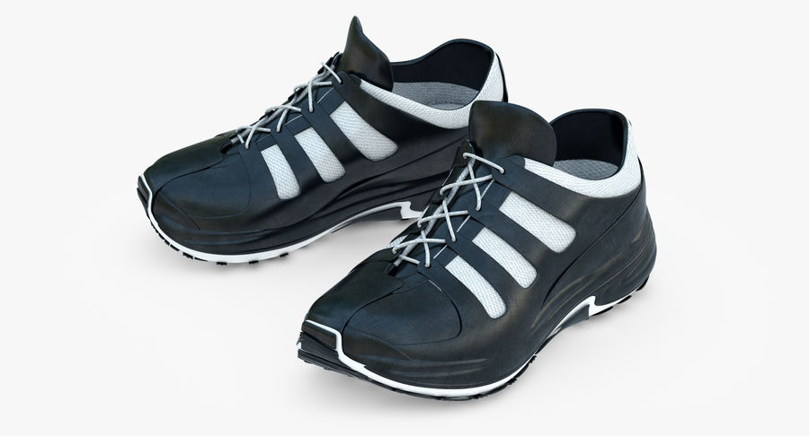 Chaussures de course royalty-free 3d model - Preview no. 8