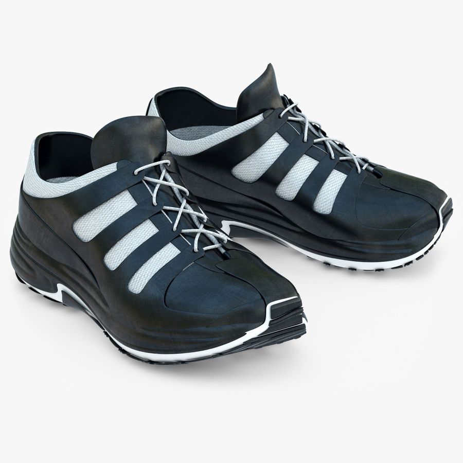 Chaussures de course royalty-free 3d model - Preview no. 1