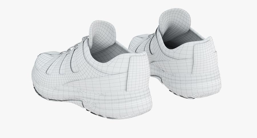 Chaussures de course royalty-free 3d model - Preview no. 17