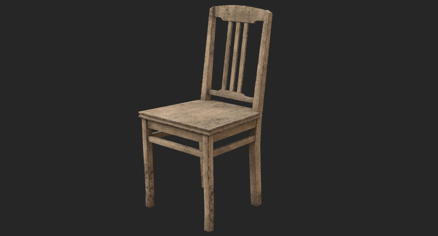 Old Chair 3d Model 19 C4d Max Obj Fbx 3ds Free3d