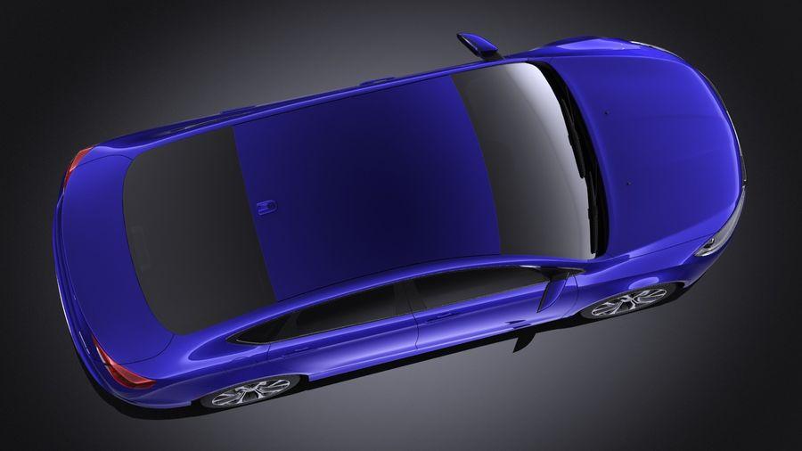 Chrysler 200 2017 royalty-free 3d model - Preview no. 8