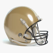 Football Helmet 2 3d model