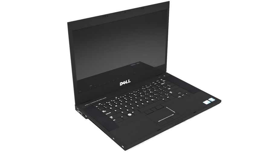 DELL M4500 LOW POLY royalty-free 3d model - Preview no. 1