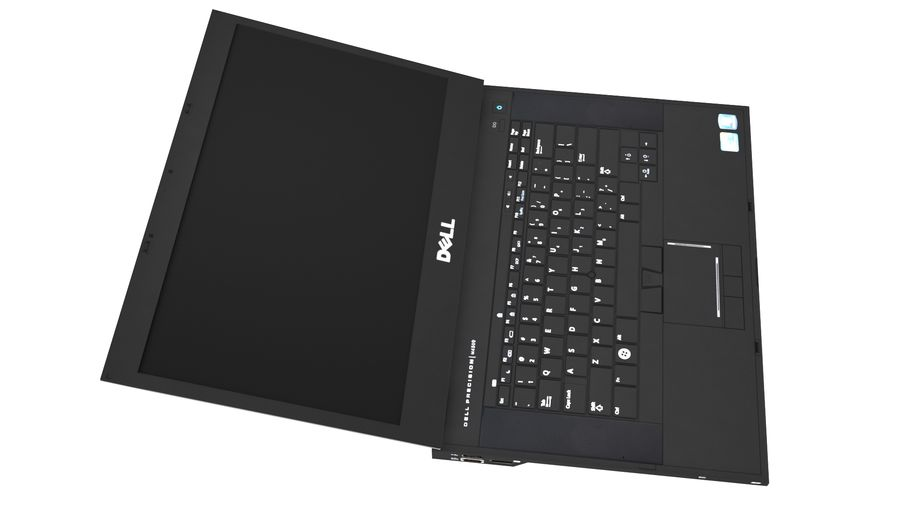 DELL M4500 LOW POLY royalty-free 3d model - Preview no. 5