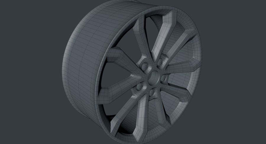 Rodas royalty-free 3d model - Preview no. 4