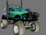 sport car  Dodge  Bigfoot 3d model