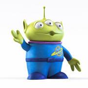 Toy Alien 3d model