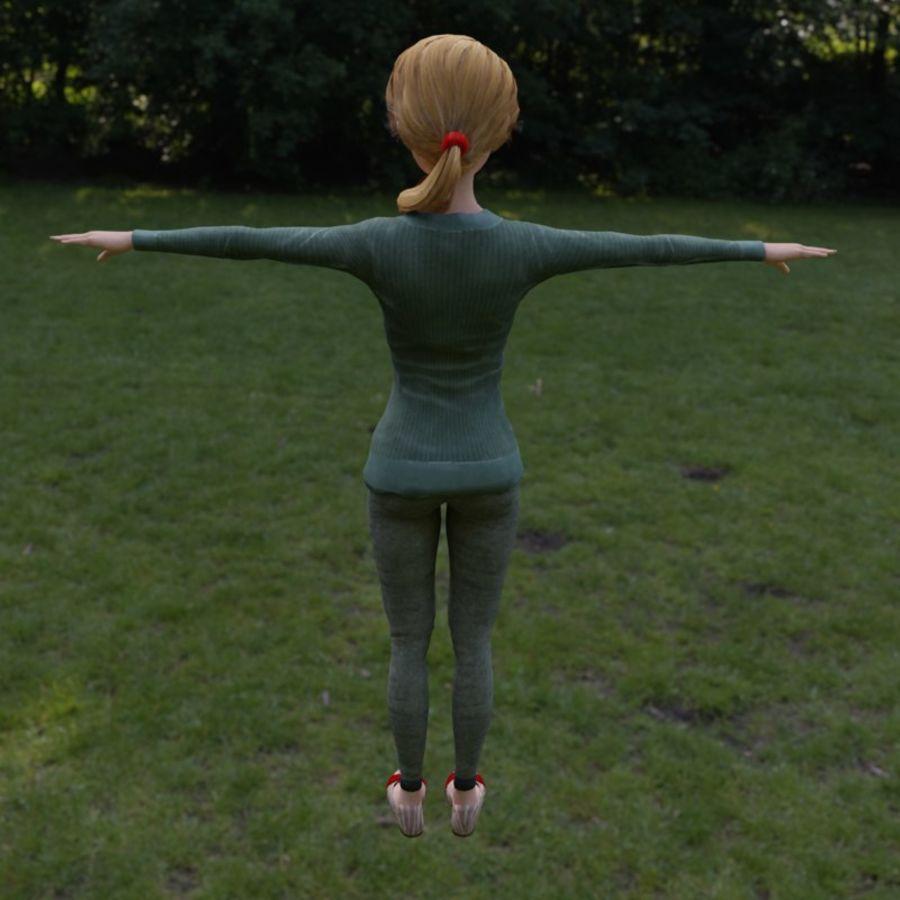 Elen royalty-free 3d model - Preview no. 3