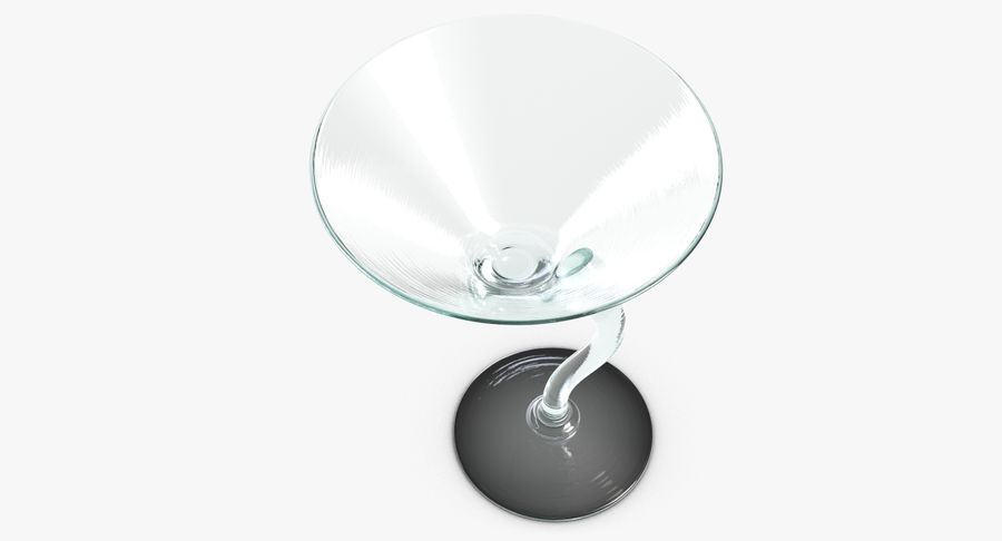 Long Drink Glass 1 royalty-free 3d model - Preview no. 10