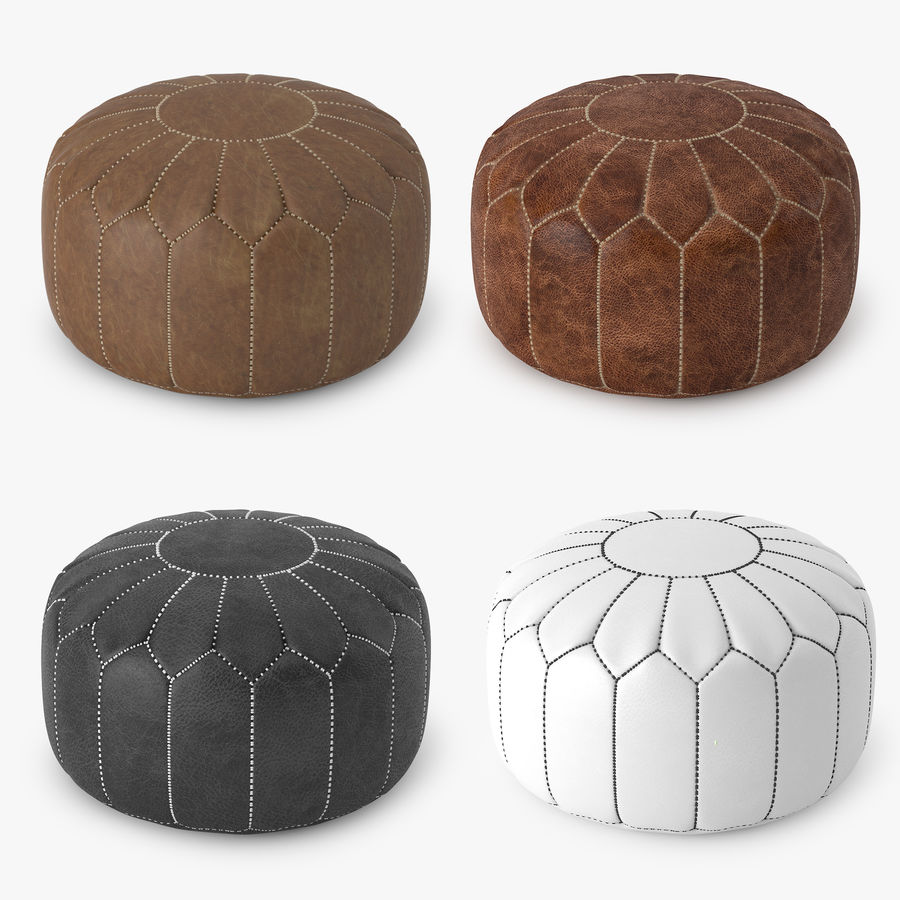 Swell Moroccan Pouf 3D Model 5 Unknown Max Fbx Free3D Short Links Chair Design For Home Short Linksinfo