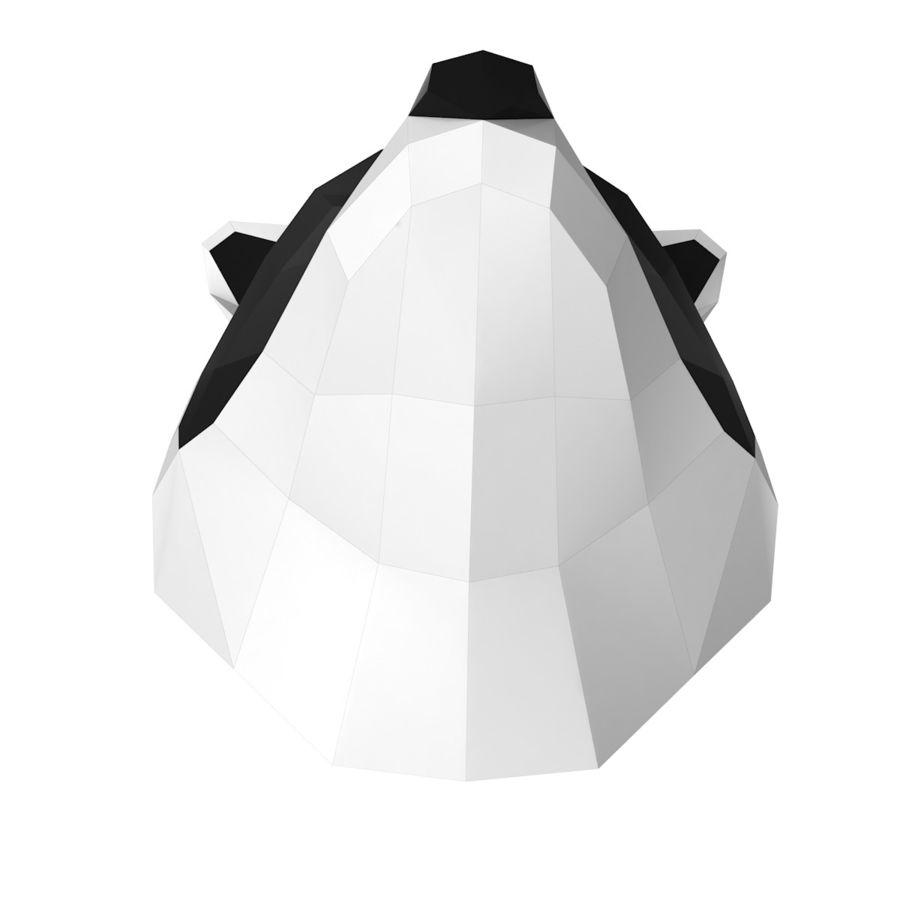 Papier de tête de raton laveur royalty-free 3d model - Preview no. 4