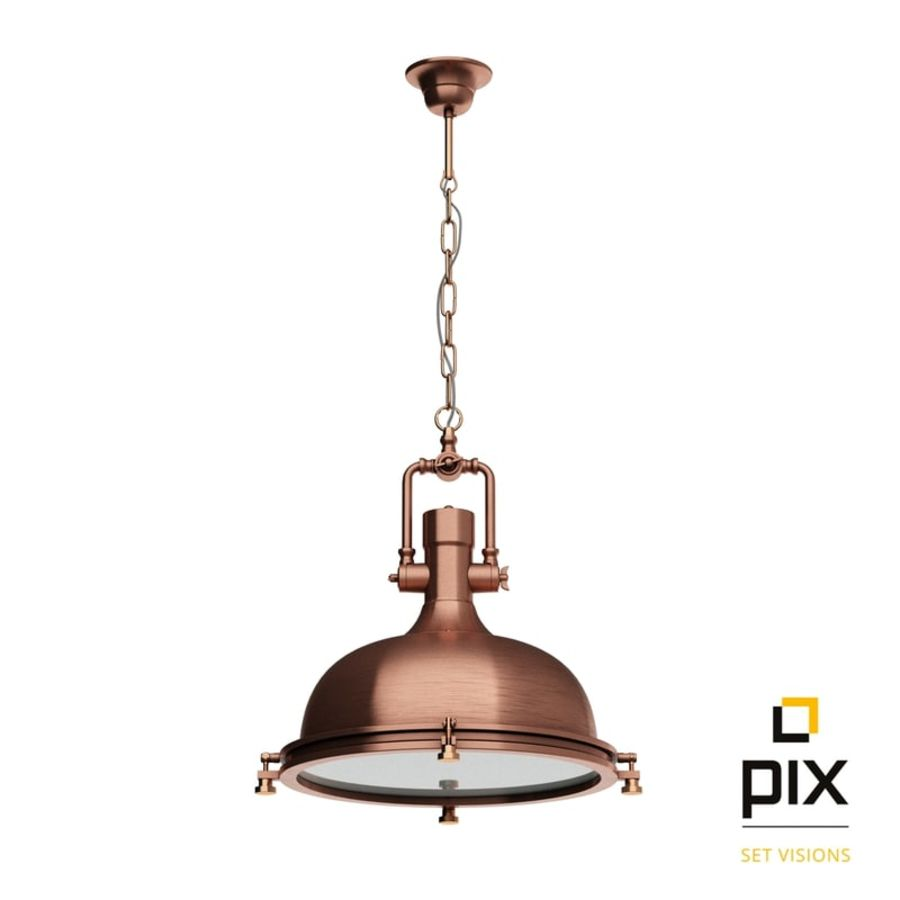 industrial pendant lighting. Boston Industrial Pendant Lamp By Leyton Royalty-free 3d Model - Preview No. 1 Lighting