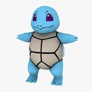 Low Poly Squirtle Pokemon 3d model
