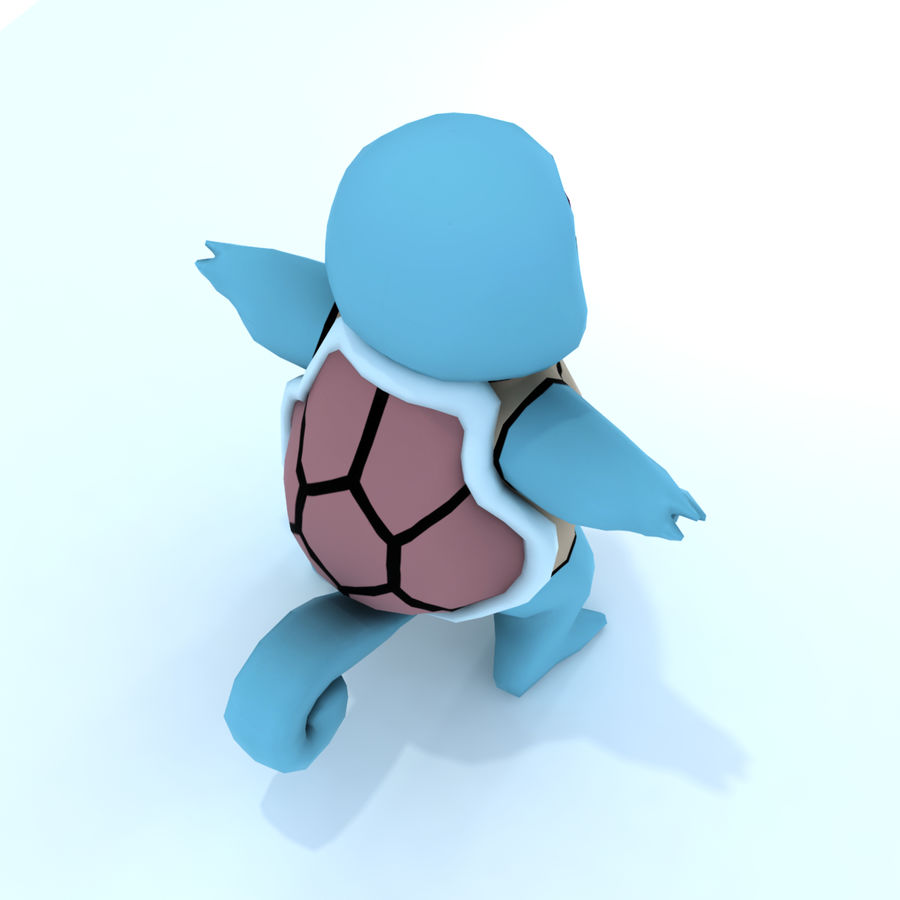 3D Origami Squirtle (Pokemon) by UNSJN on DeviantArt | 900x900