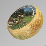 Cheese Goat  wheel 3d model