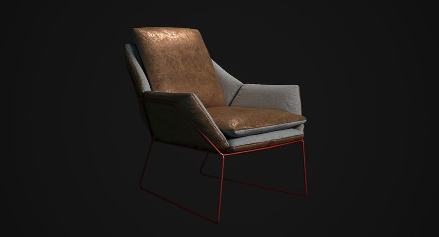 Saba New York royalty-free 3d model - Preview no. 1