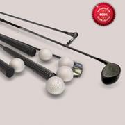 Golf Set 3d model