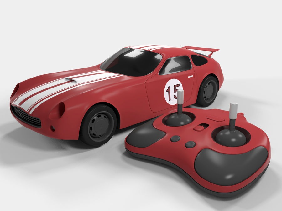 Toy Car royalty-free 3d model - Preview no. 1