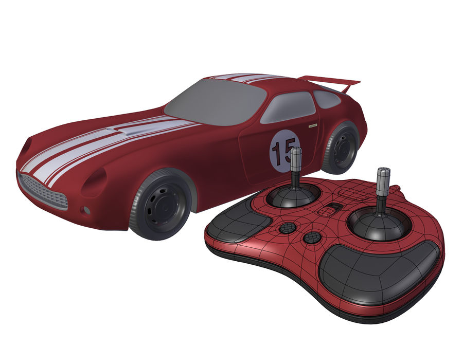 Toy Car royalty-free 3d model - Preview no. 6