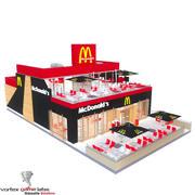 McDonalds restaurang 3d model
