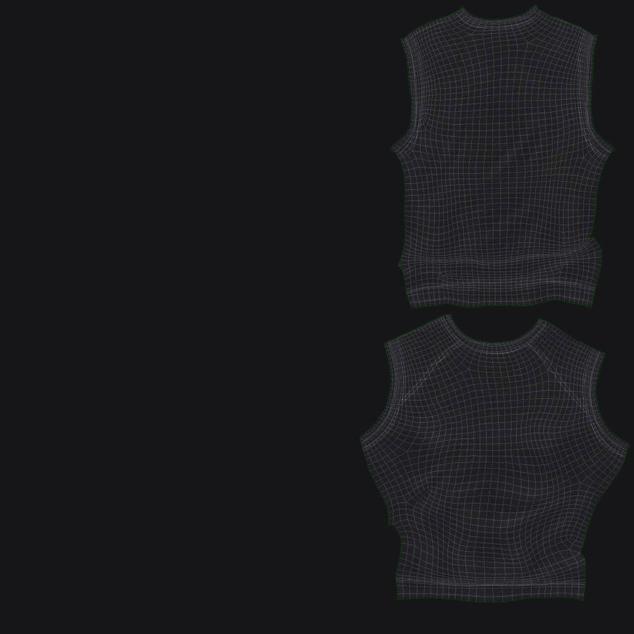 t-shirt royalty-free 3d model - Preview no. 20