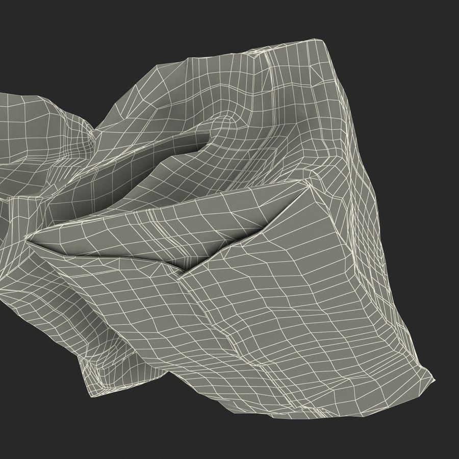 Crumpled Fast Food Paper Bag 2 Mcdonalds 3D Model $29 -  max