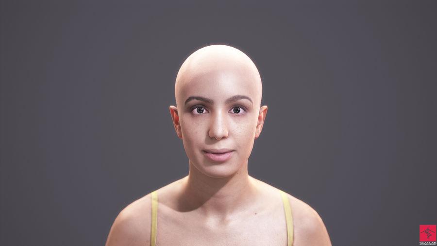 Realistic Woman Body - Basic Rig - LOD1024 - 163FBody 3D Model $30
