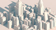 New York City pack 3d model