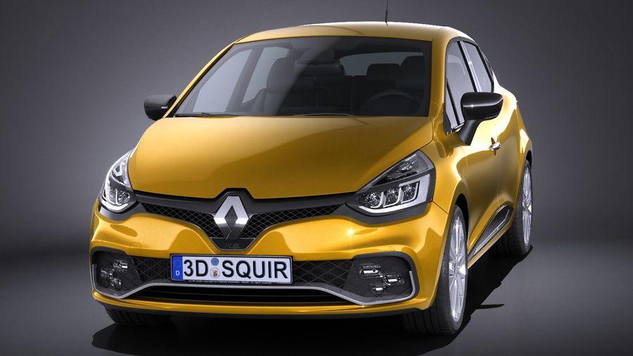 Renault Clio Rs 2017 3d Model 149 Obj Max Lwo Fbx C4d 3ds