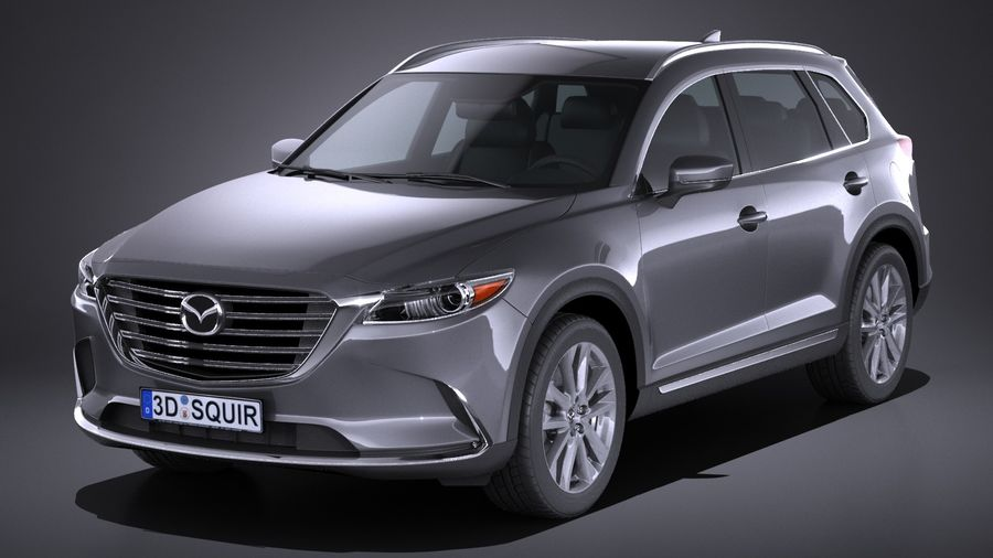 Mazda CX-9 2017 royalty-free 3d model - Preview no. 1