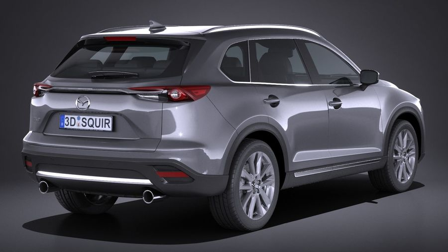 Mazda CX-9 2017 royalty-free 3d model - Preview no. 6