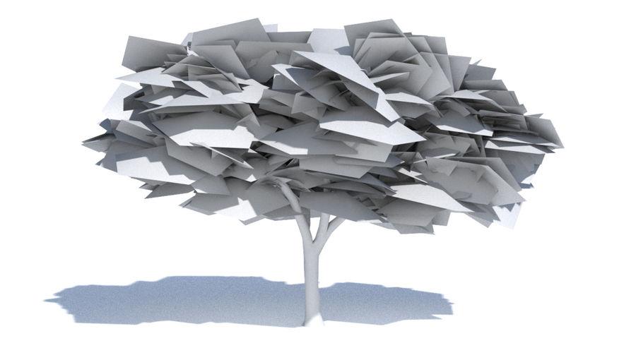 Cartoon Elm Tree Royalty Free 3d Model