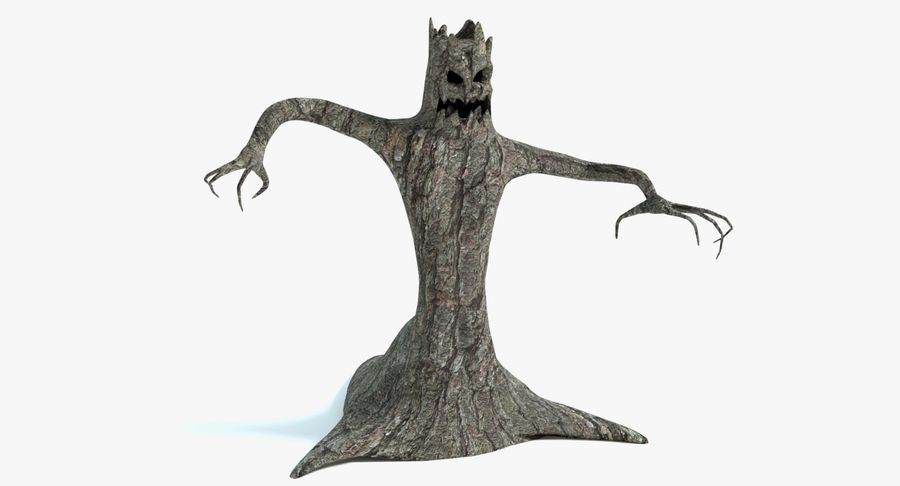 Tree Monster royalty-free 3d model - Preview no. 2