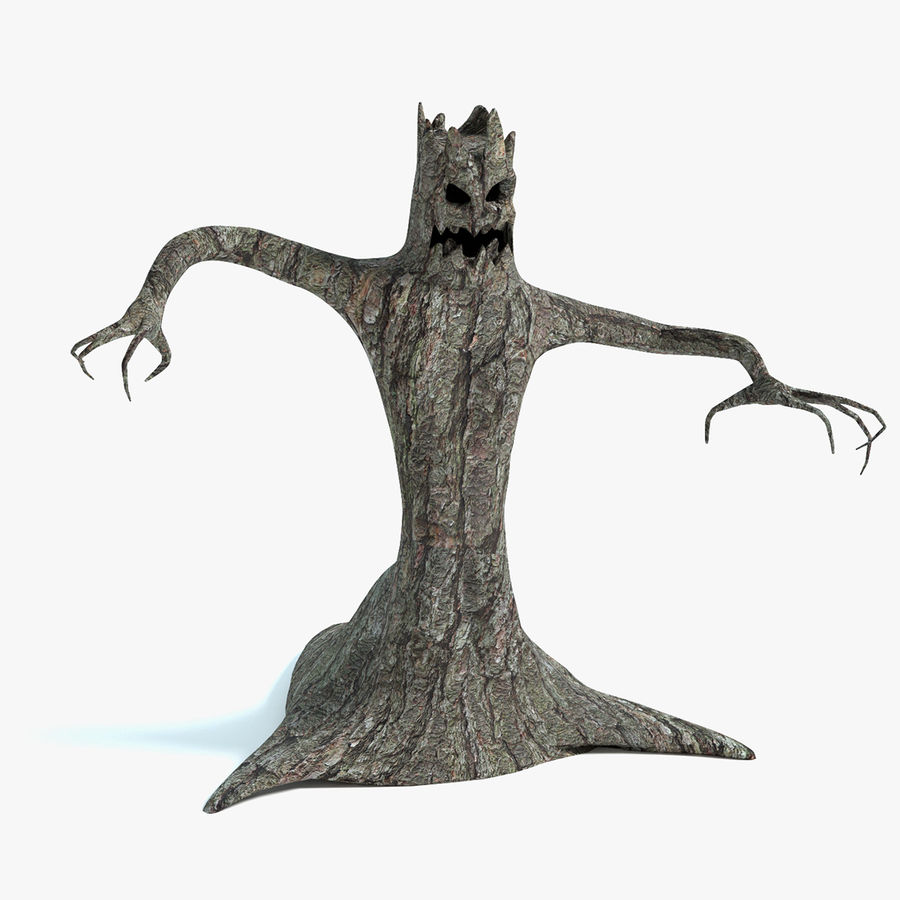 Дерево Монстр royalty-free 3d model - Preview no. 1