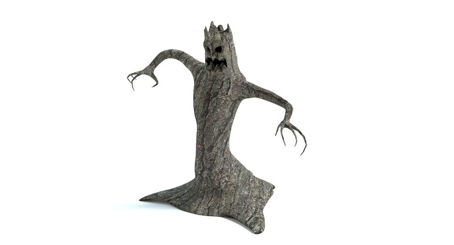 Tree Monster royalty-free 3d model - Preview no. 8