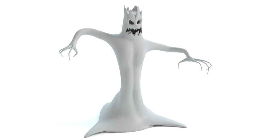 Tree Monster royalty-free 3d model - Preview no. 10
