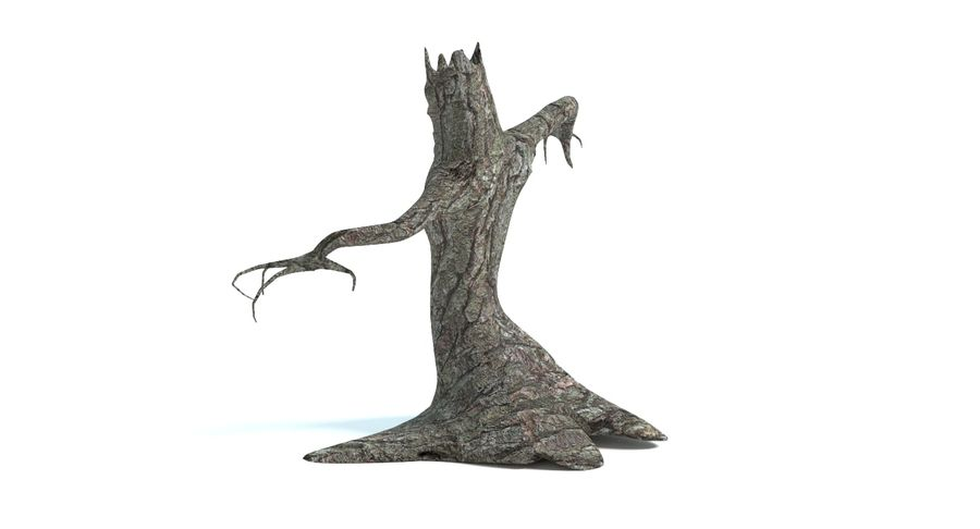 Tree Monster royalty-free 3d model - Preview no. 6