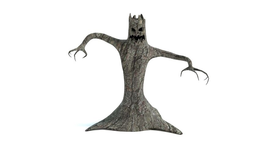 Tree Monster royalty-free 3d model - Preview no. 9