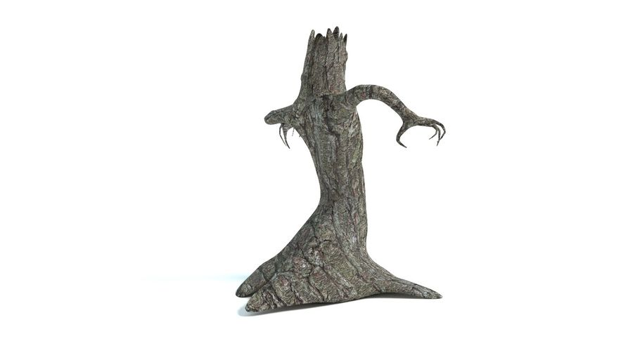 Дерево Монстр royalty-free 3d model - Preview no. 5