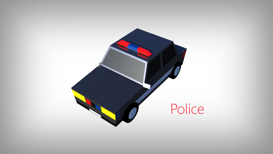 Low Poly Toon type Cars Pack with 10+Vehicles royalty-free 3d model - Preview no. 11